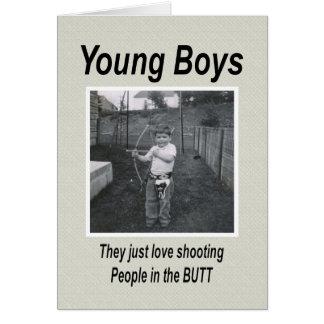Tarjeta Momentos de la maternidad de Young Boys