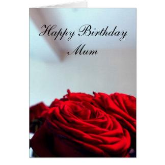 Tarjeta Momia del feliz cumpleaños