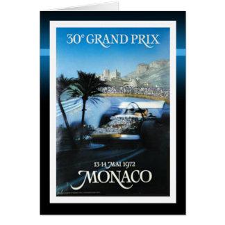 Tarjeta Mónaco Grand Prix