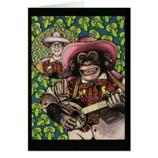Tarjeta mono 1 del banjo