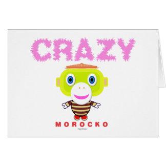 Tarjeta Mono-Morocko Loco-Lindo