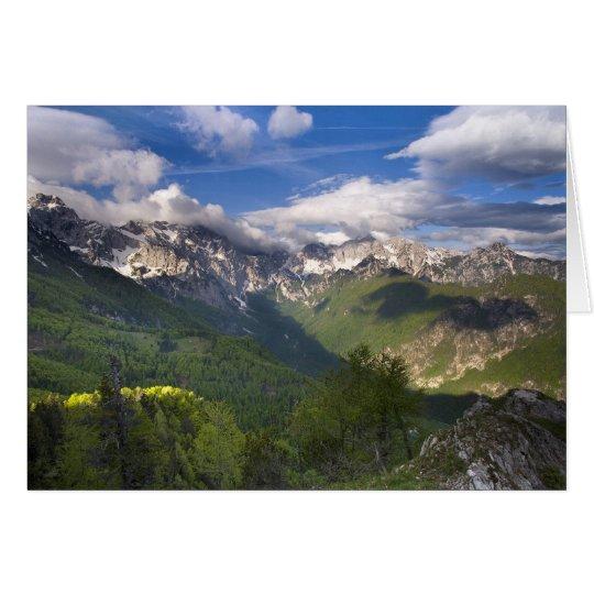 Tarjeta Montañas, Eslovenia