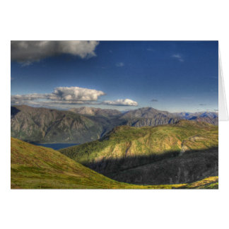 Tarjeta Montañas magníficas