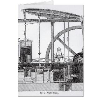Tarjeta Motor de vapor
