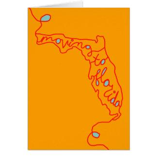 Tarjeta mudanza a la Florida