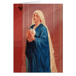 Tarjeta Mujeres en la biblia - Maria (madre de Jesús)