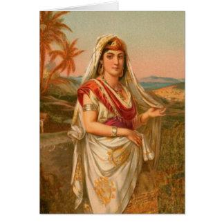 Tarjeta Mujeres en la biblia - Sarah la princesa