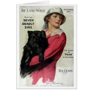 Tarjeta Mundo 1916 de las señoras