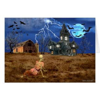Tarjeta Mundo de Halloween de Christina