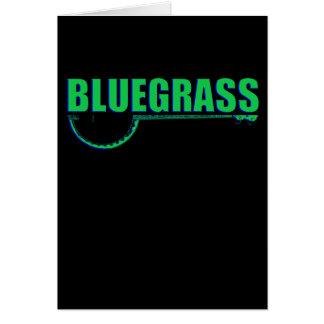 Tarjeta Música de Bluegrass