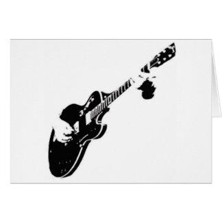 Tarjeta Música - guitarra