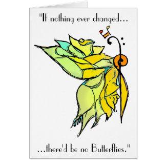 Tarjeta musical de la mariposa