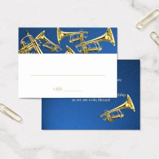 Tarjeta musical del asiento de Mitzvah de la barra