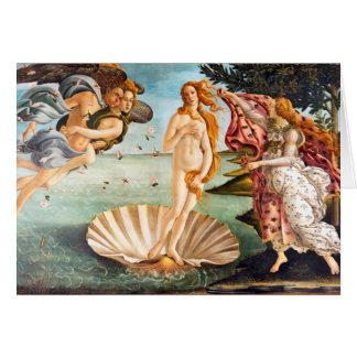 Tarjeta Nacimiento restaurada y de Recolored Botticelli de
