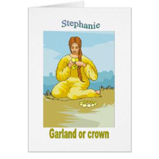 Tarjeta Names&Meanings - Stephanie