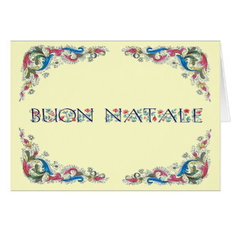 Tarjeta Natale de Buon - diseño de Florencia