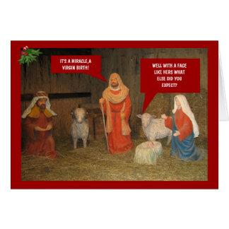 Tarjeta Natividad del mún gusto