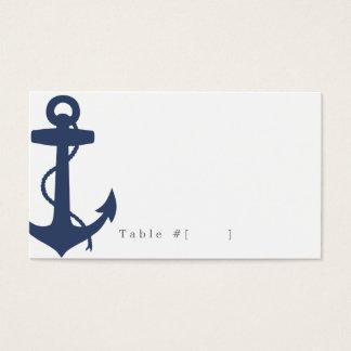 Tarjeta náutica del acompañamiento