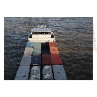 Tarjeta Nave de la carga en la Mosa, Rotterdam