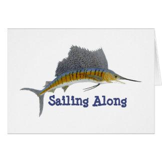 Tarjeta Navegación del pez volador adelante