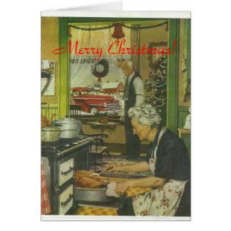 Tarjeta Navidad 1947 de Plymouth