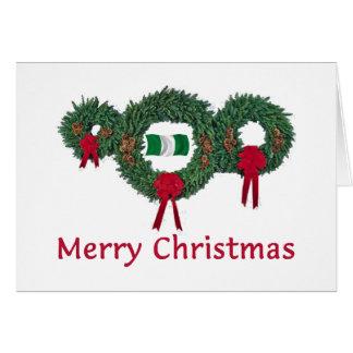 Tarjeta Navidad 2 de Nigeria