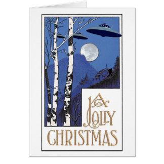 Tarjeta Navidad alegre