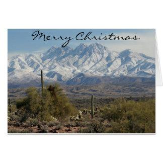 Tarjeta Navidad de Arizona