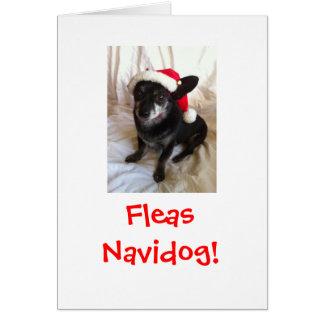 Tarjeta Navidad de Elvis