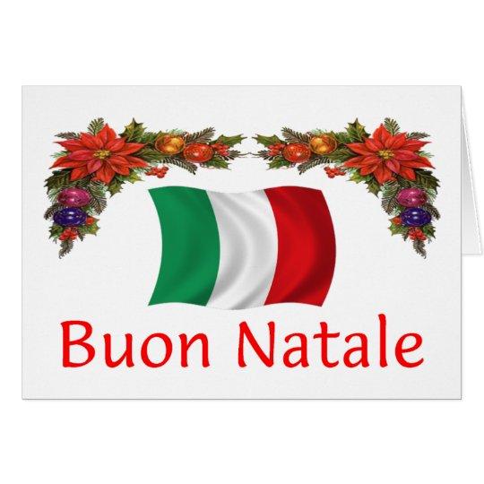 Tarjeta Navidad de Italia