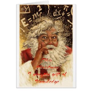 Tarjeta Navidad de la seta