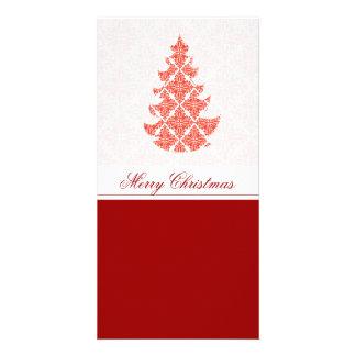 Tarjeta Navidad de lujo de lujo