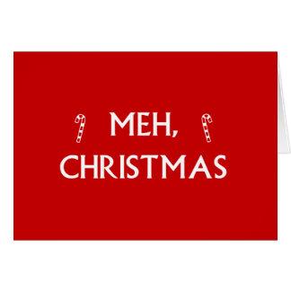 Tarjeta Navidad de Meh