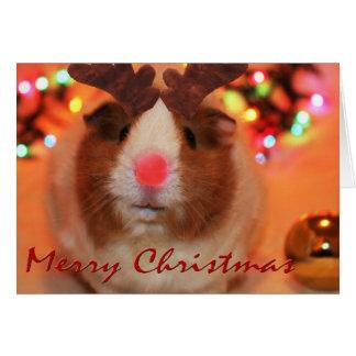 Tarjeta Navidad de Rednose