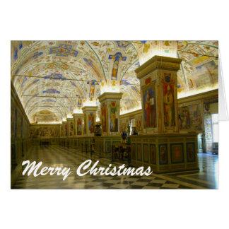 Tarjeta navidad de vatican