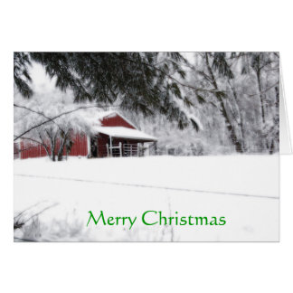 Tarjeta Navidad del potro