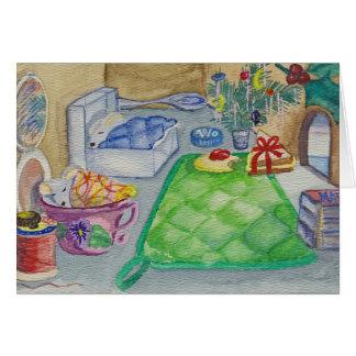 Tarjeta Navidad del ratón