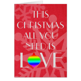 Tarjeta Navidad elegante e inspirado del rojo del copo de