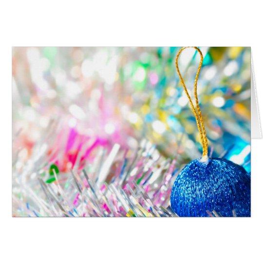 Tarjeta Navidad loco de los colores