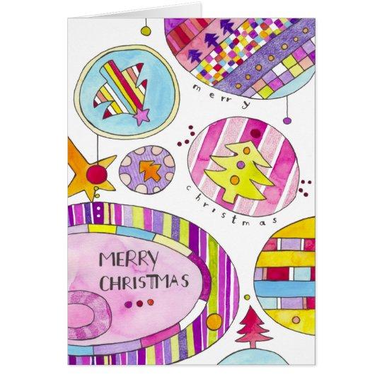 Tarjeta Navidad moderno