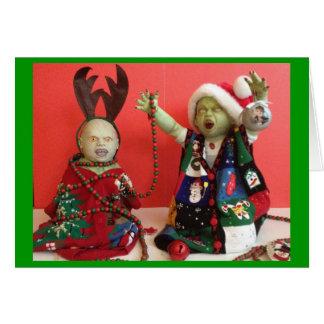 Tarjeta Navidad: No está apenas para la vida más -