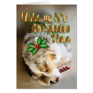 Tarjeta Navidad-personalizar de la bujía métrica Dixie