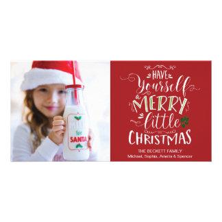 Tarjeta Navidad Photocard - tenga usted mismo un feliz