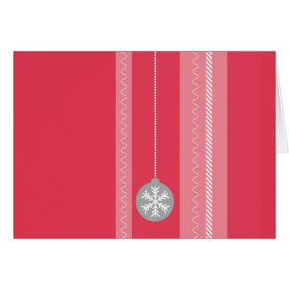 Tarjeta Navidad rojo