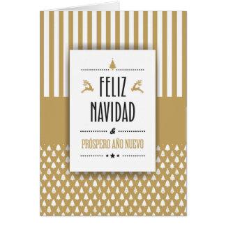 Tarjeta Navideña Personalizada en Español