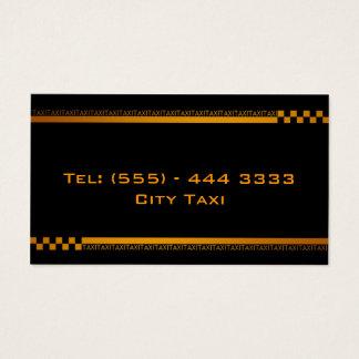 Tarjeta negra simple de la empresa de servicios