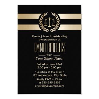 Tarjeta Negro del colegio de abogados y fiesta de