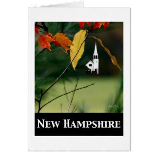 Tarjeta New Hampshire; Capilla de Chocorua