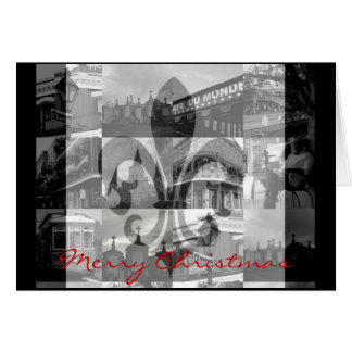 Tarjeta New Orleans [tarjeta de Navidad]