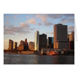Tarjeta New York City